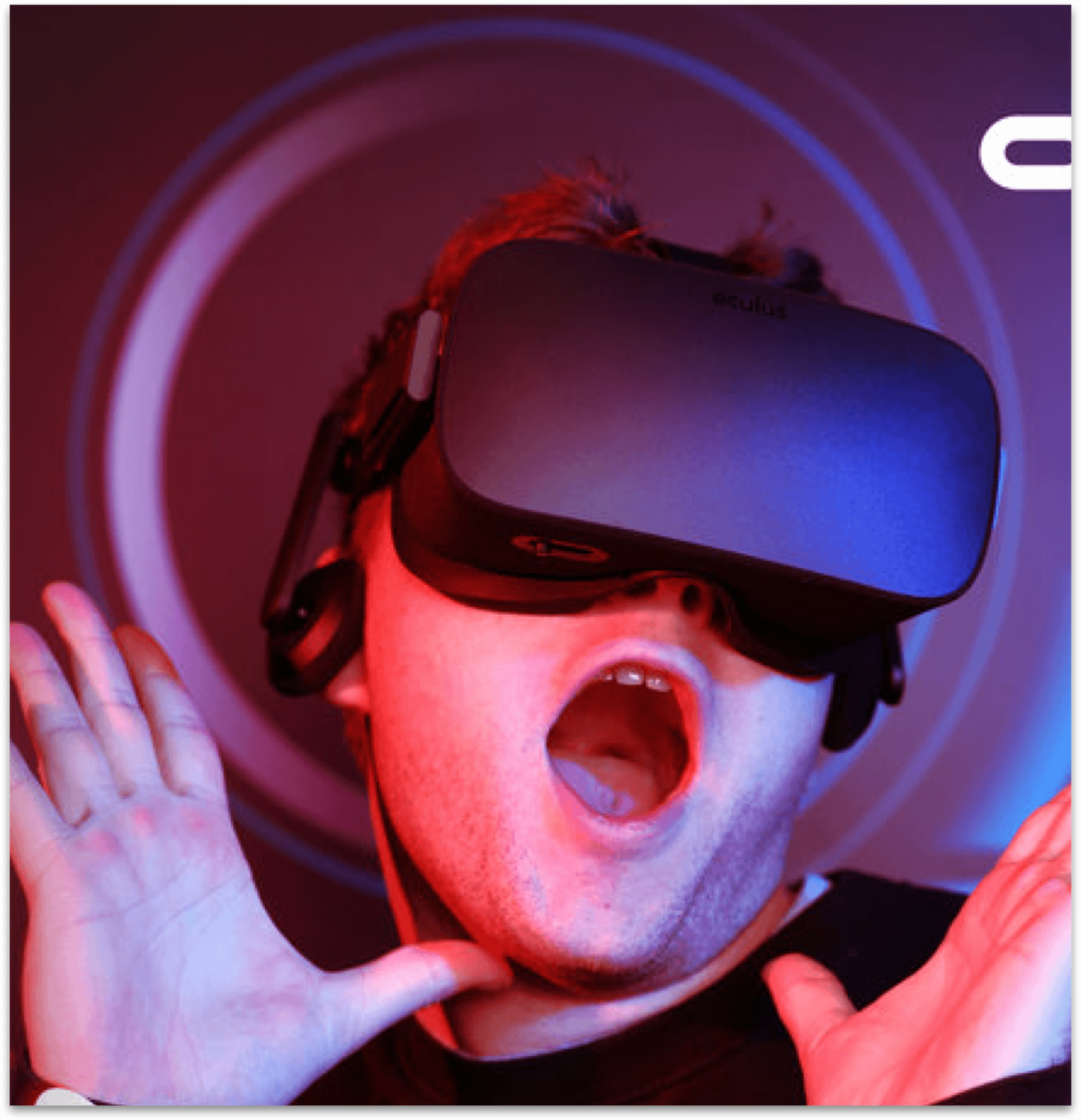 Oculus brand activation event photo booth