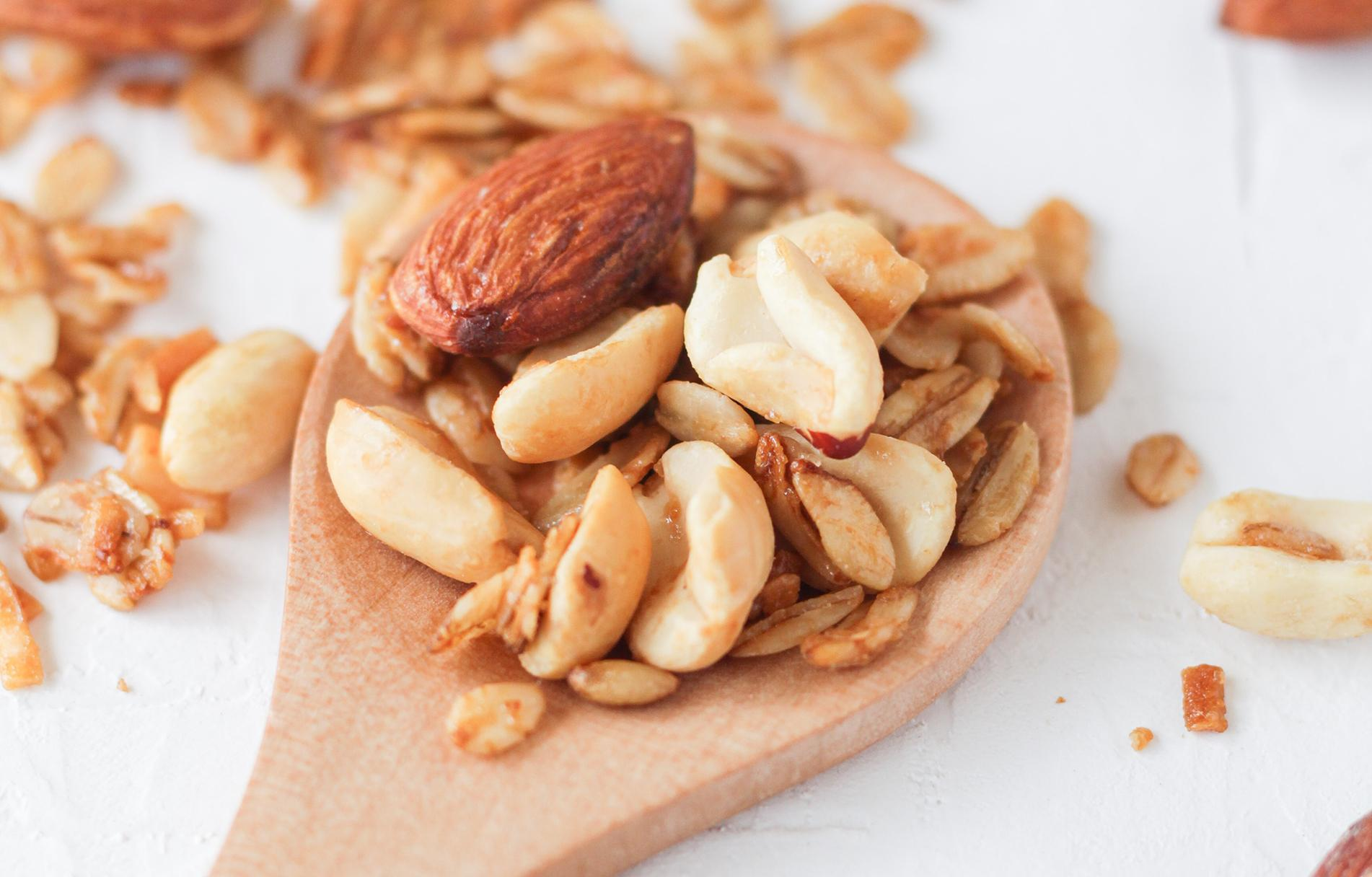 Plusieurs types de noix