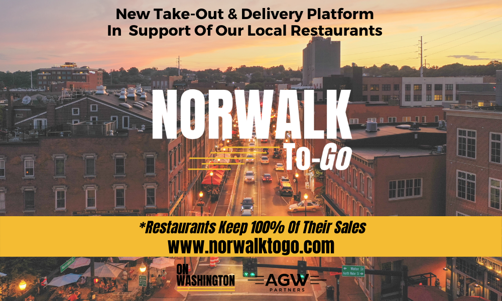 OnWashington Launches Norwalk To-Go - Custom Food Take-out and Delivery App!