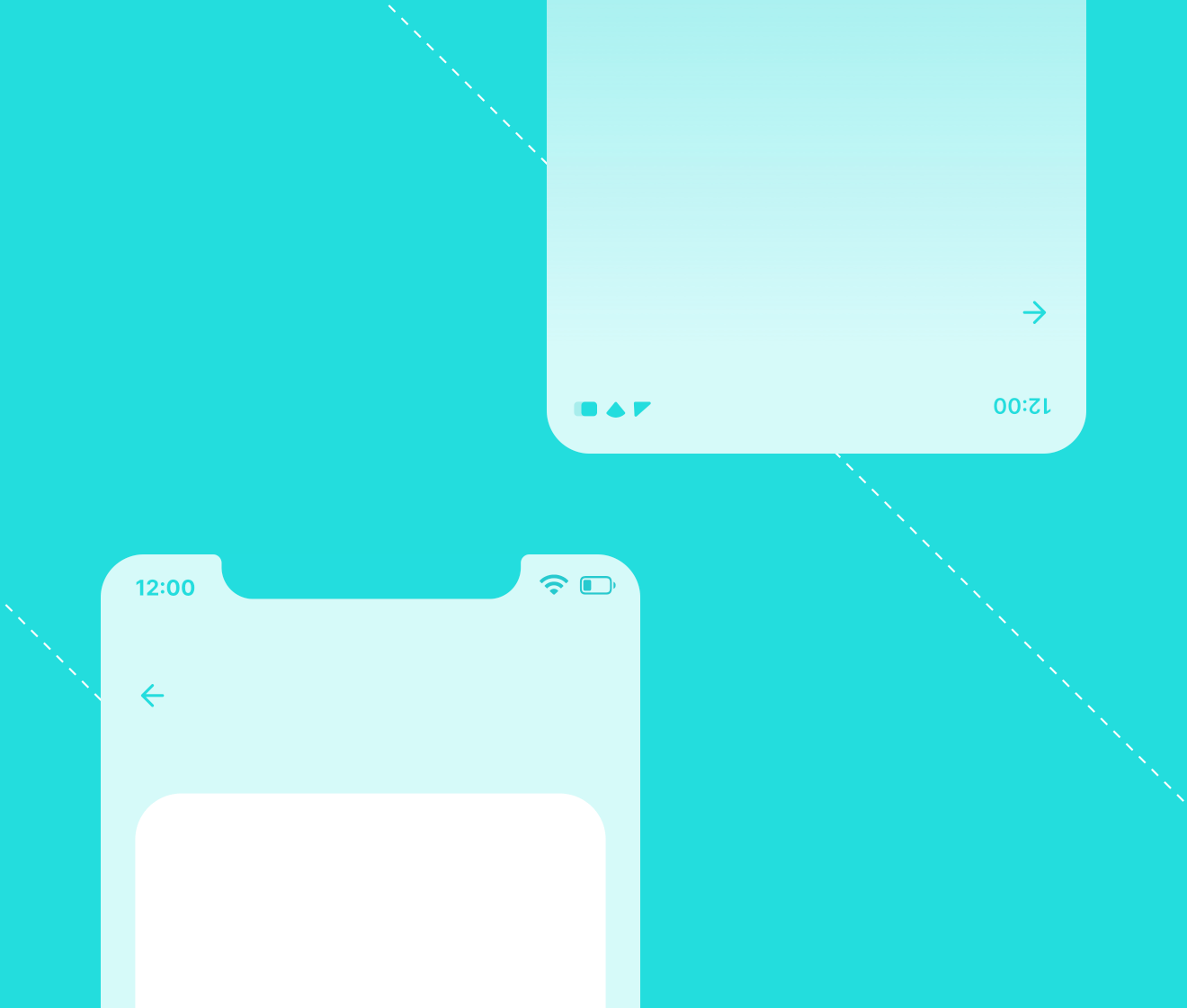 Create wireframes for iOS and Android apps