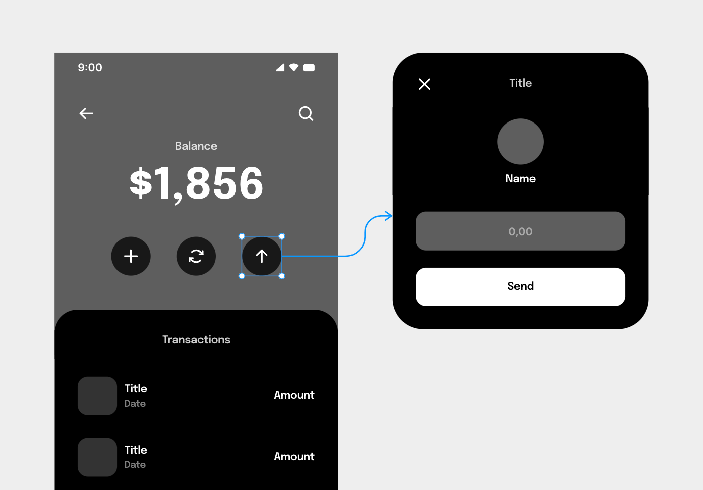 clickable wireframe