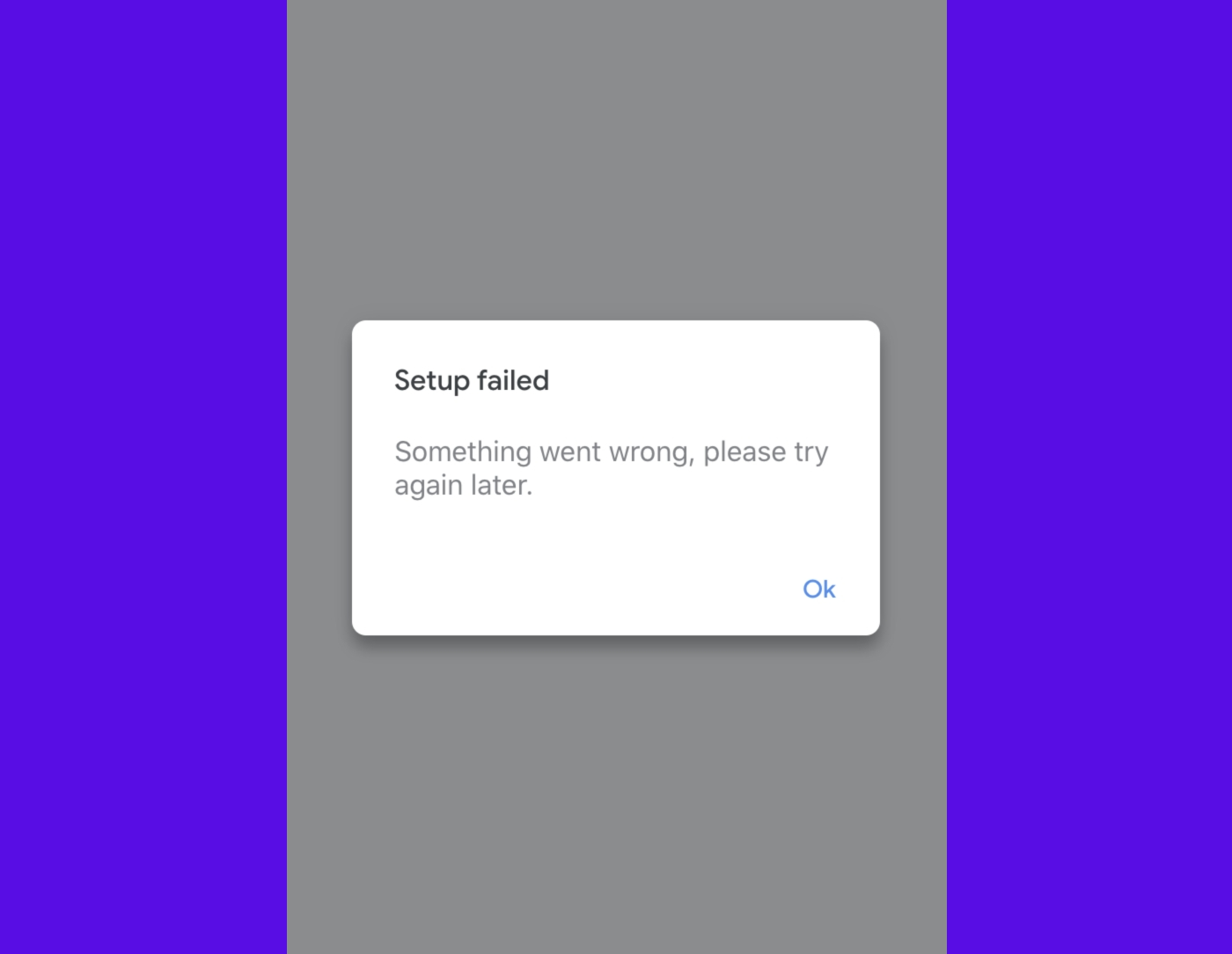 """""""Something went wrong"""" is one of the most annoying things on mobile"""