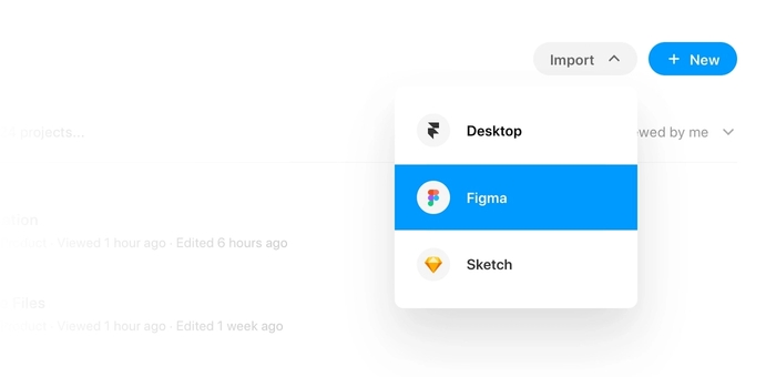How to import your prototype from Figma