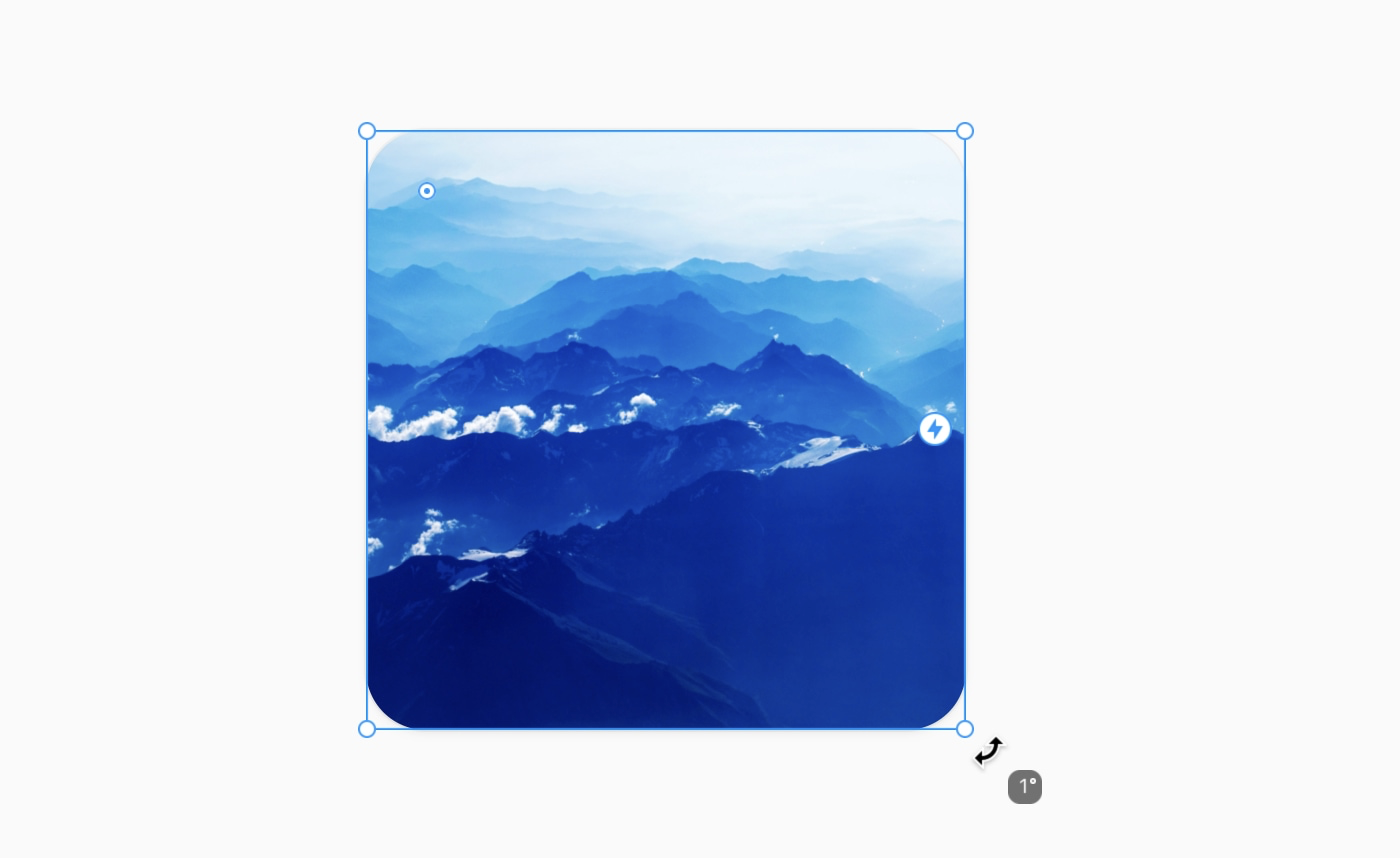 An image showing how to rotate a canvas element