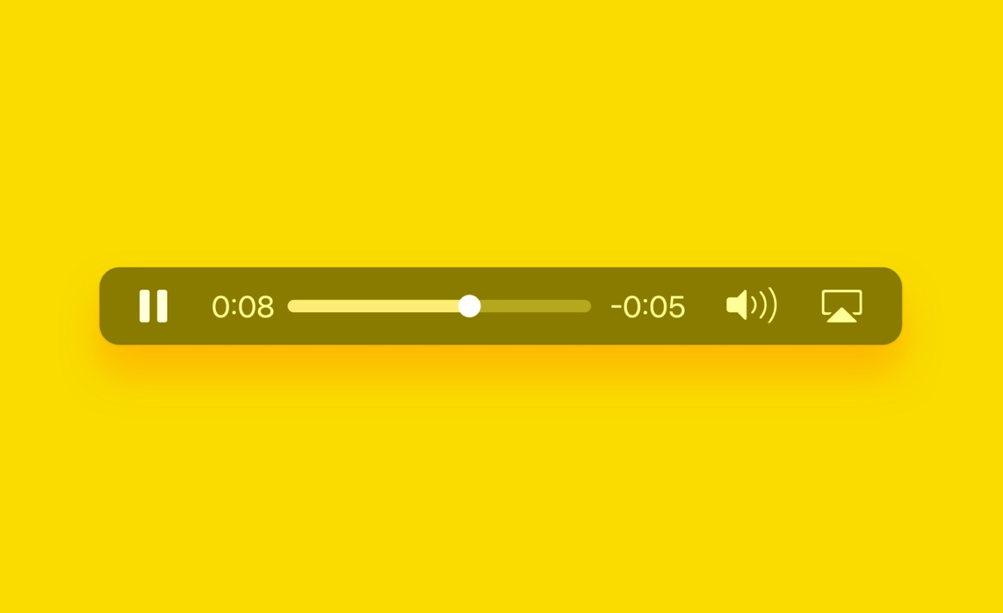 Audio Player package that is available on framer