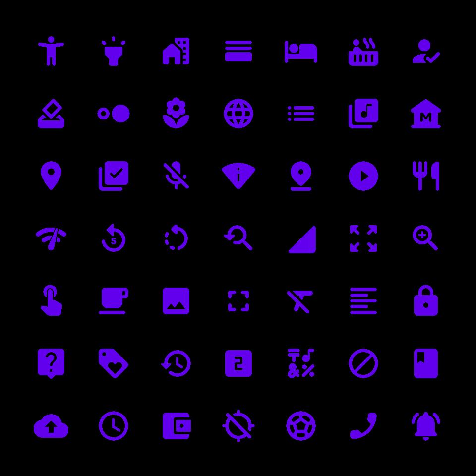 Material UI Icon set