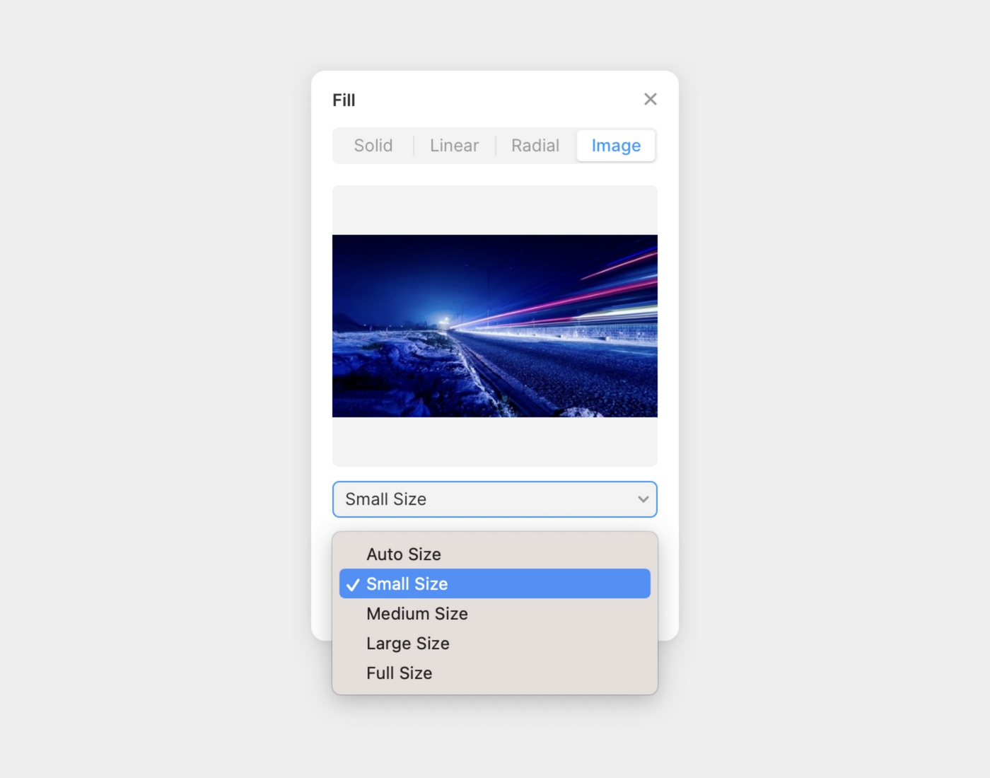 Framer image fill with size control