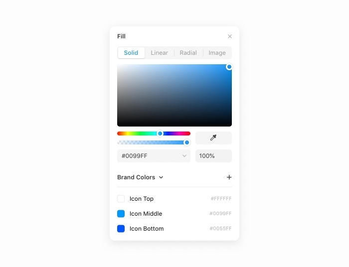 How to view or use a package's shared colors