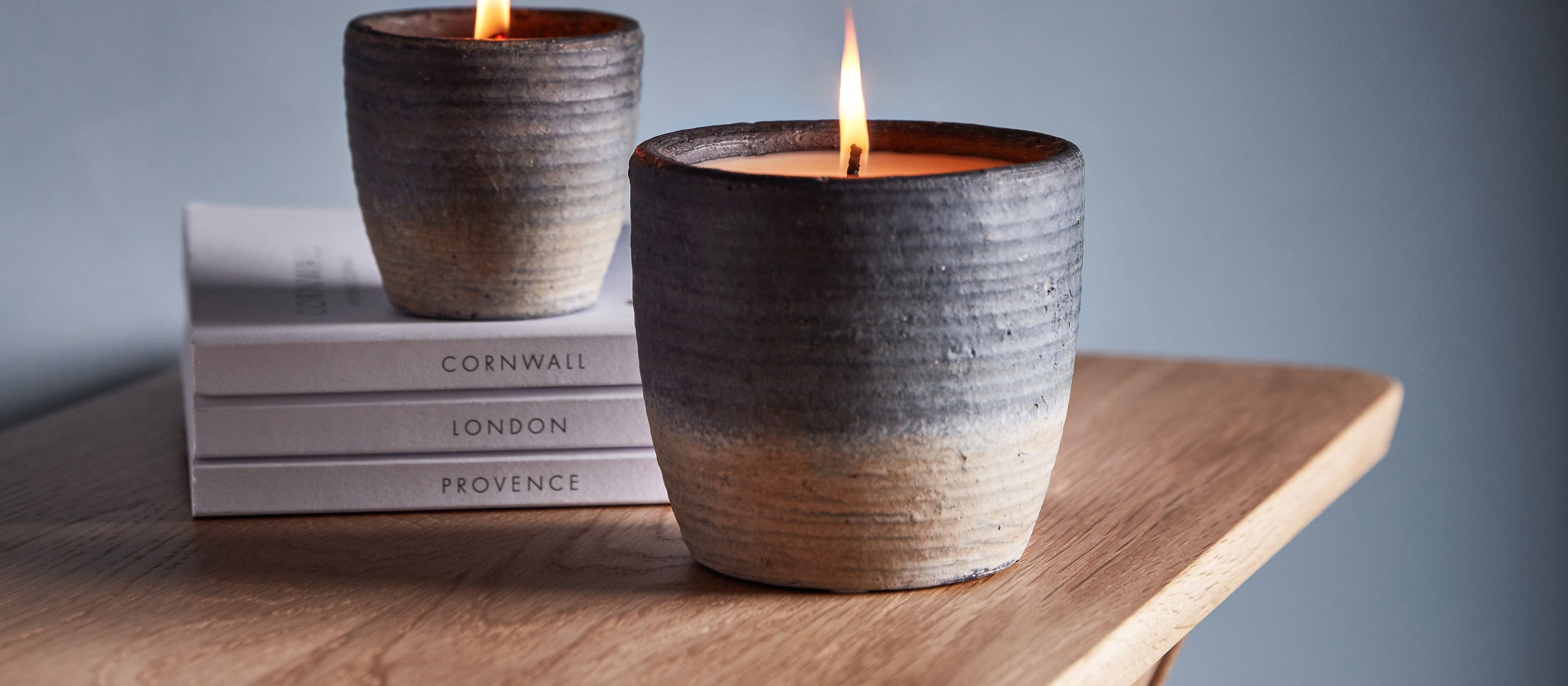 Coastal Sea salt candles