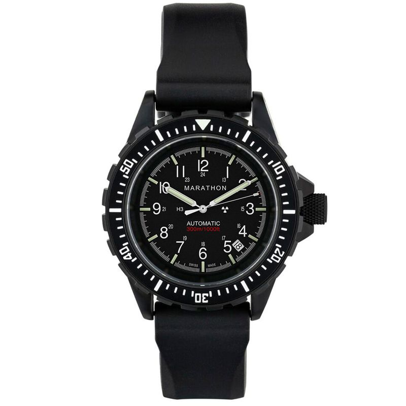 Search & Rescue Diver's Automatic (GSAR)- Anthracite Black - 41mm