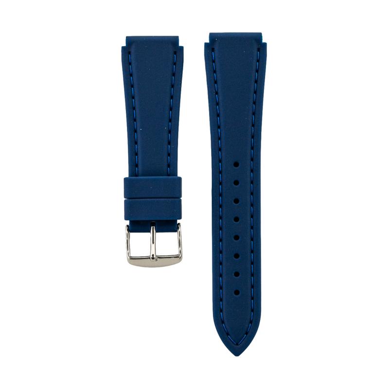 Blue Genuine Silicone Strap