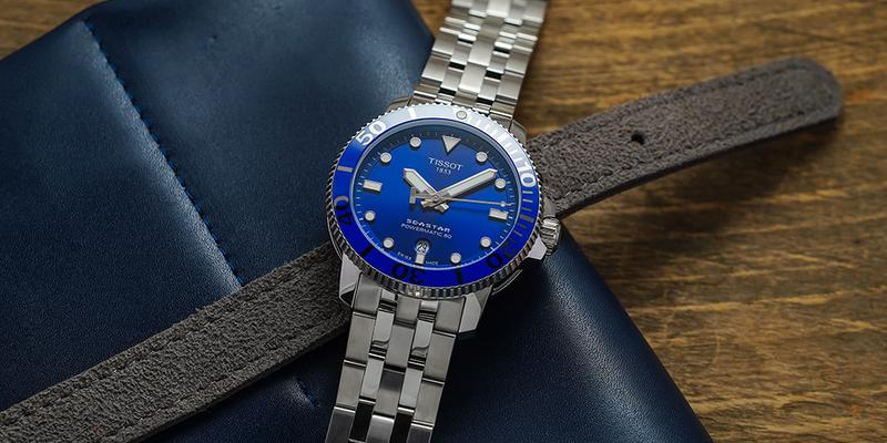 Tissot Seastart 1000 Powermatic 80 Blue