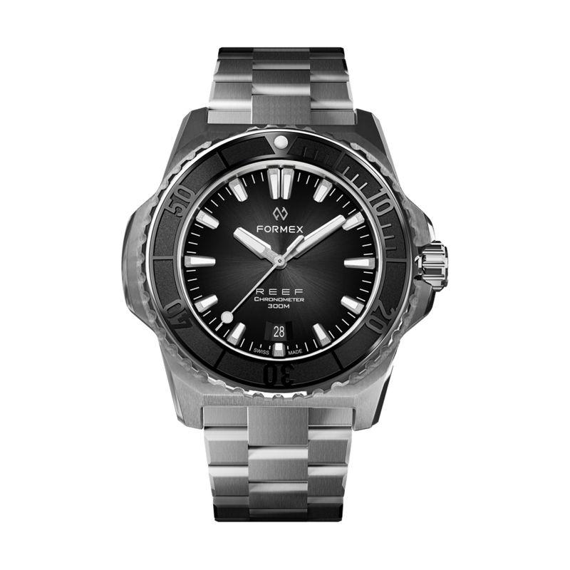 REEF Automatic Chronometer COSC 300M Black Bezel