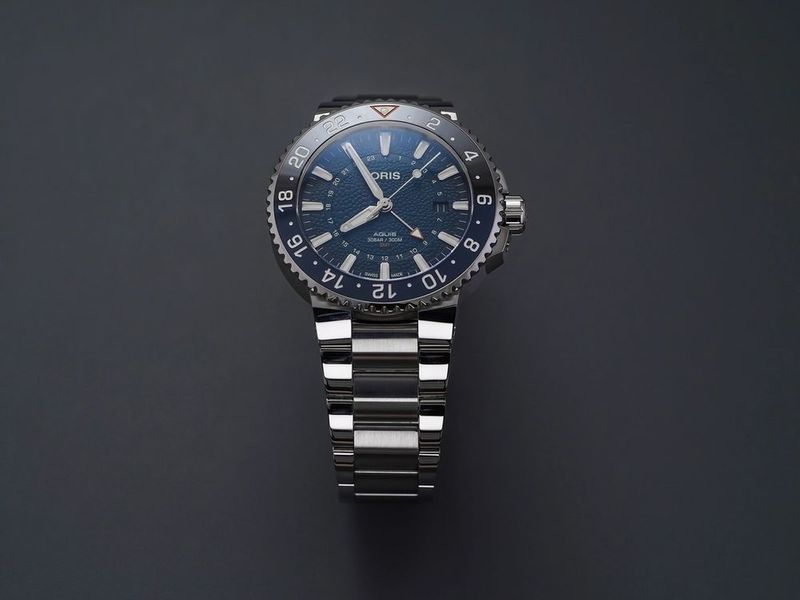 A New Oris Aquis GMT Supporting A Great Cause