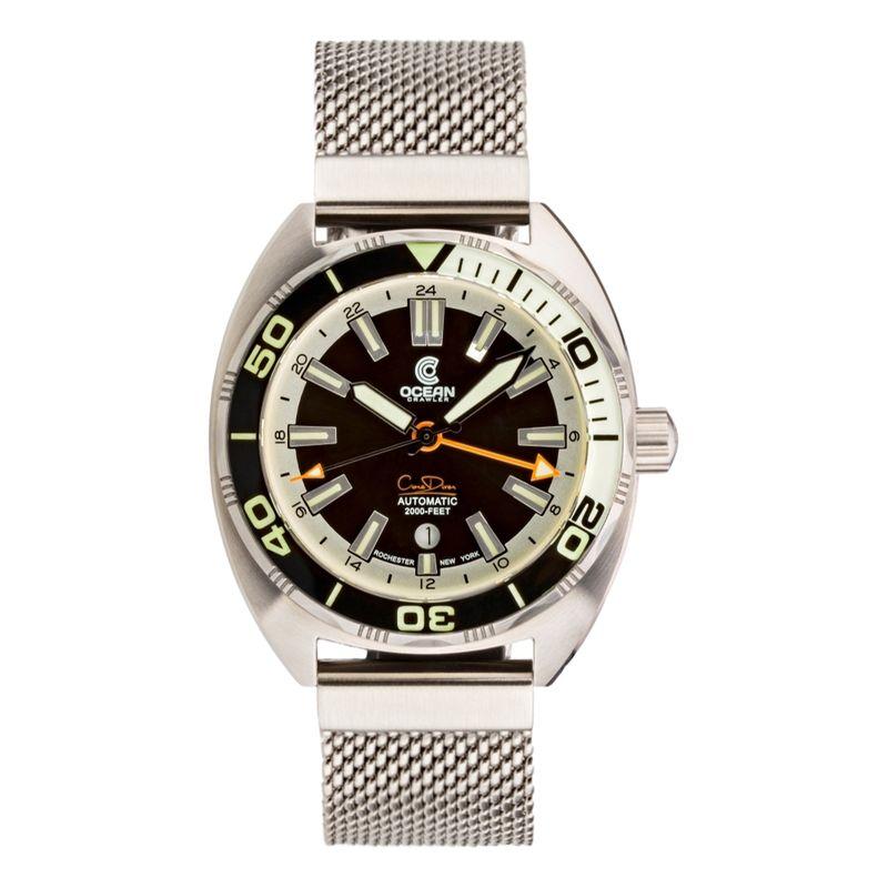 Core Diver GMT Black/White