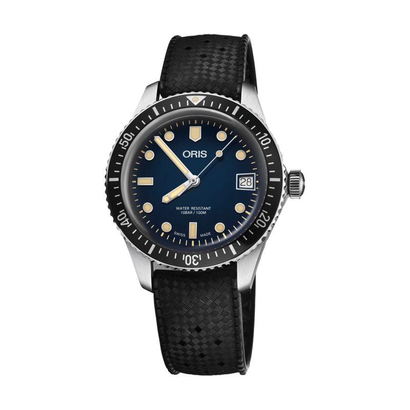 Divers Sixty-Five 36M Blue Rubber