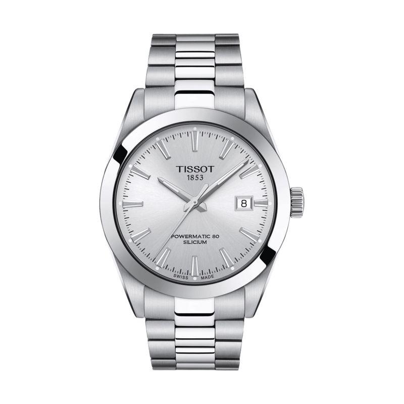 Gentleman Powermatic 80 Silicium Silver Dial
