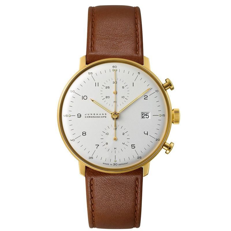 Max Bill Chronoscope with Numerals