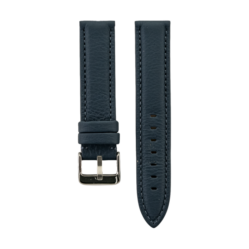 Blue Rolls Royce Leather Strap