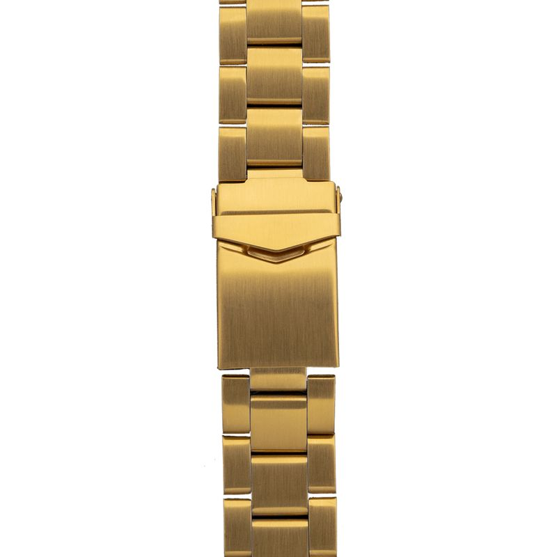 Yellow Gold Solid Three Link Band