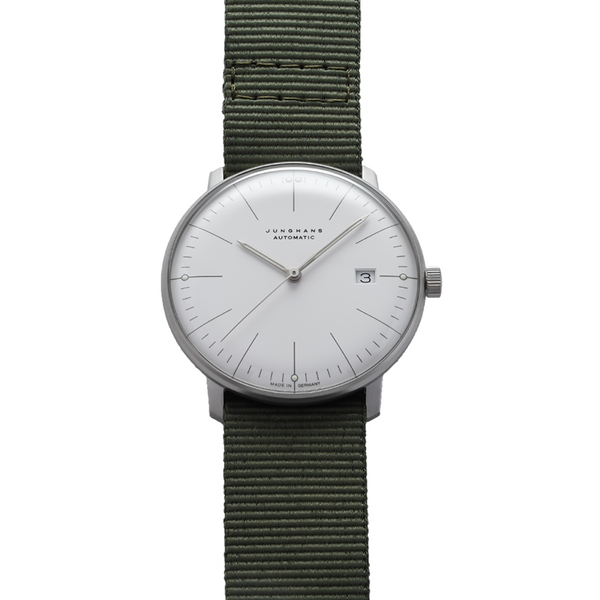 Max bill Automatic Textile Strap (Pre-Owned)