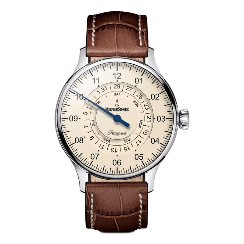 Pangaea Day Date Ivory Dial