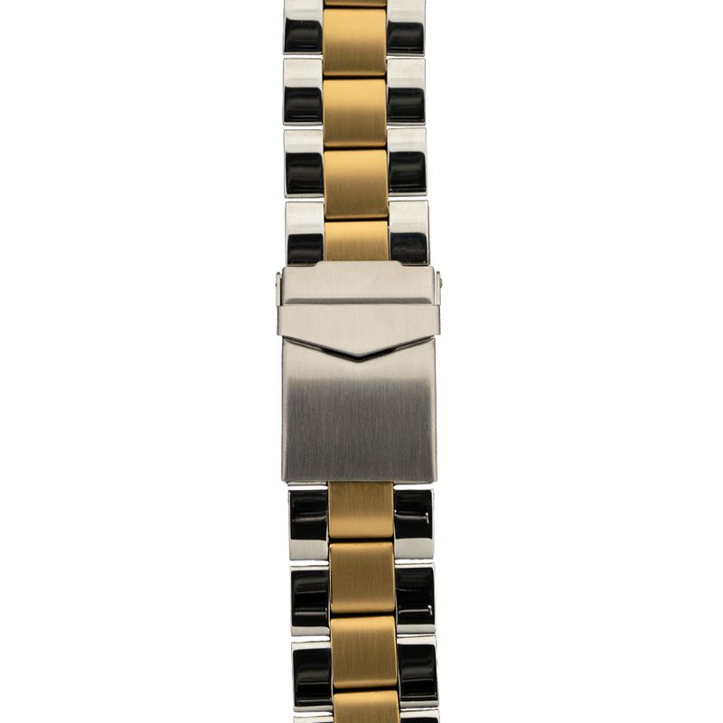 Two-Tone Three Link Band