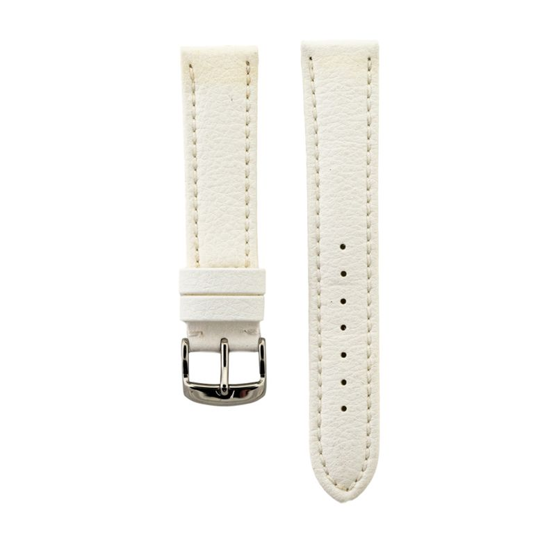 White Genuine Lorica Strap
