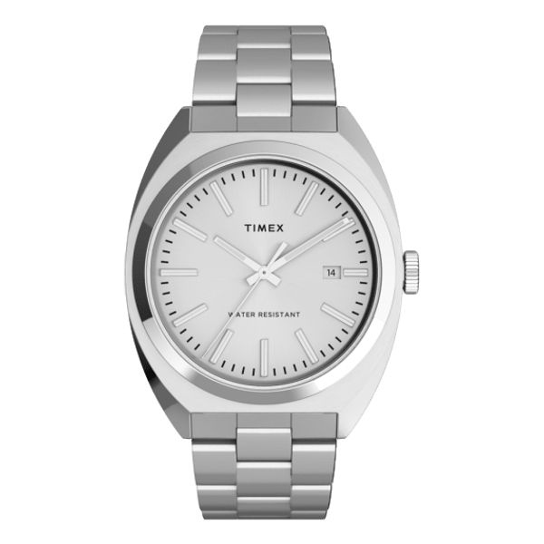 Milano XL 38mm Stainless Steel Bracelet Watch