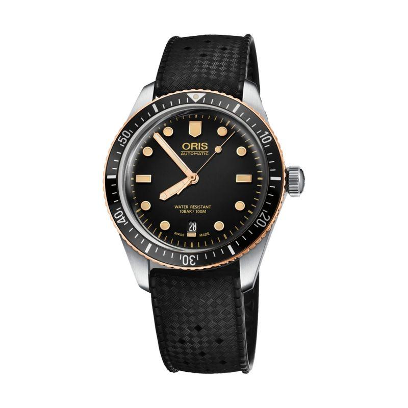 Divers Sixty-Five 40M Black Rubber