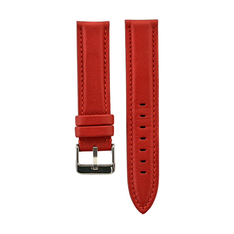 Red Rolls Royce Leather Strap