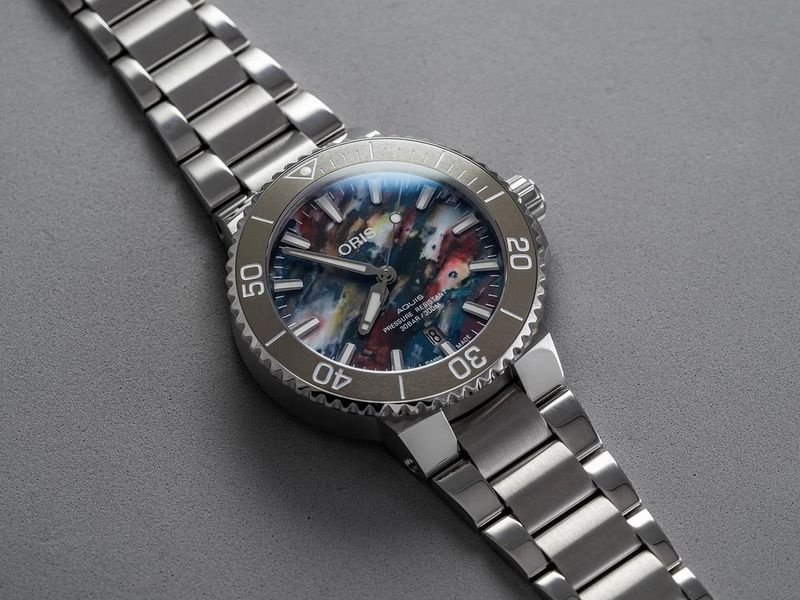 A One of a Kind Dial in the Familiar Aquis Format