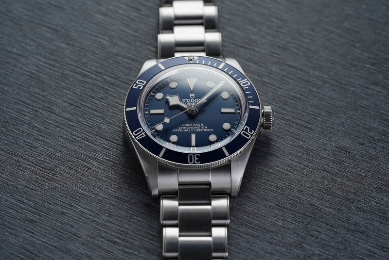 Tudor Black Bay 58 blue dial version with in-house movement