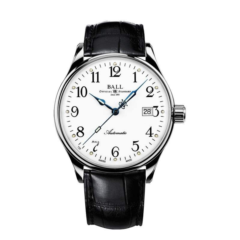 Trainmaster Standard Time 135 Anniversary On Strap