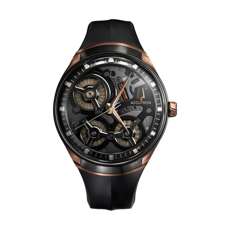 ElectroStatic Spaceview DNA Rose Gold-Tone Accents