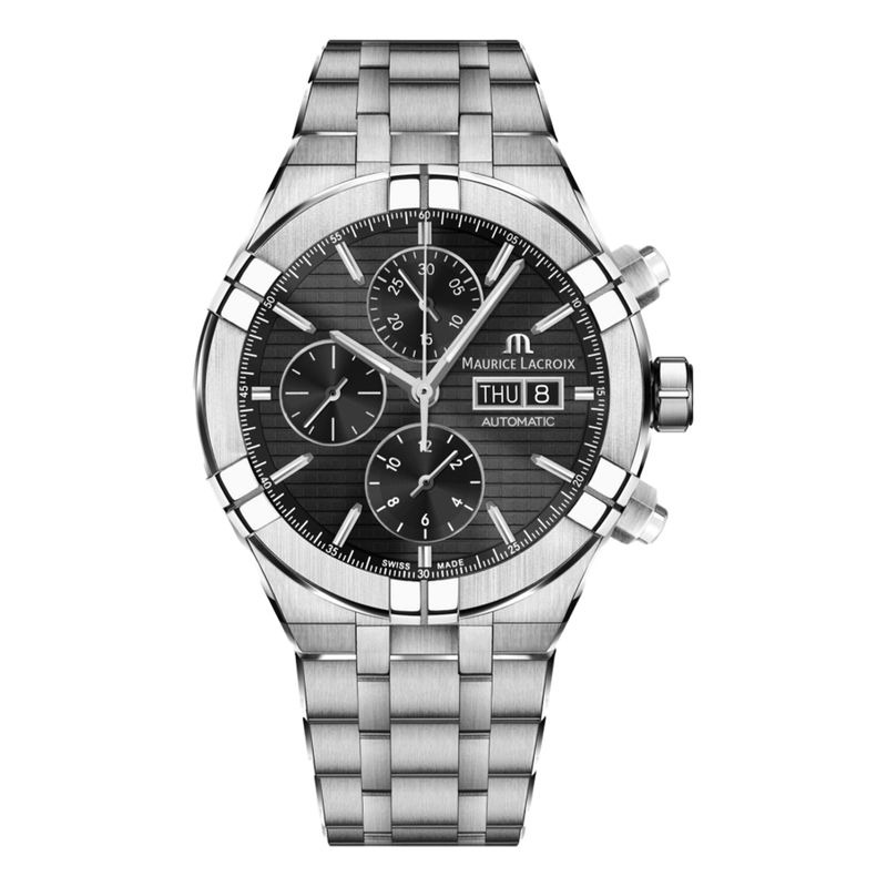 AIKON Automatic Chronograph Black