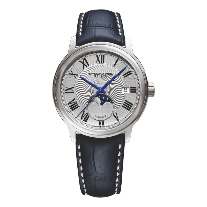 Maestro Moonphase Silver Dial
