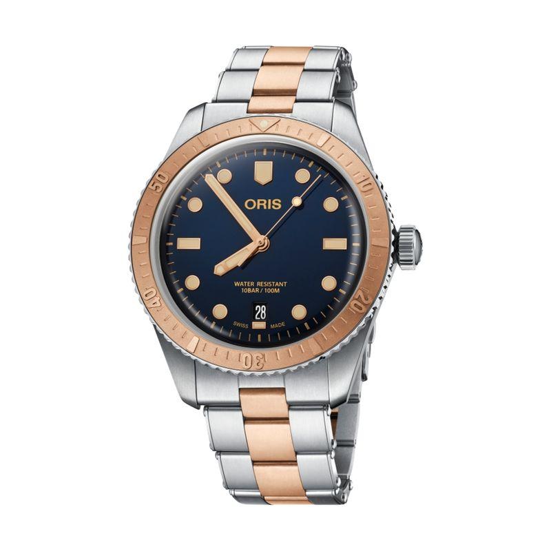 Divers Sixty-Five Steel/Bronze 40M Metal