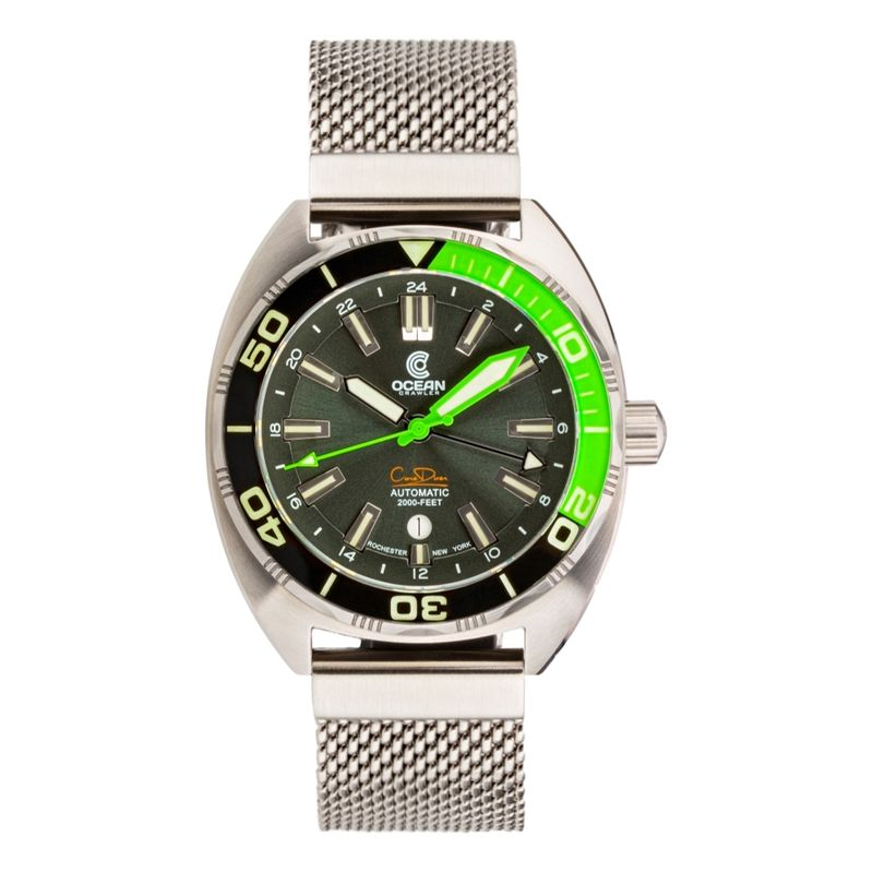 Core Diver GMT Green/Black