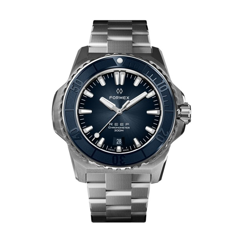 REEF Automatic Chronometer COSC 300M Blue Bezel