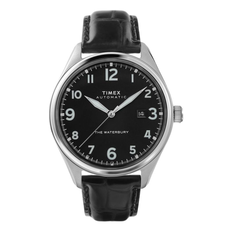 Waterbury Traditional Automatic 42mm Leather Strap
