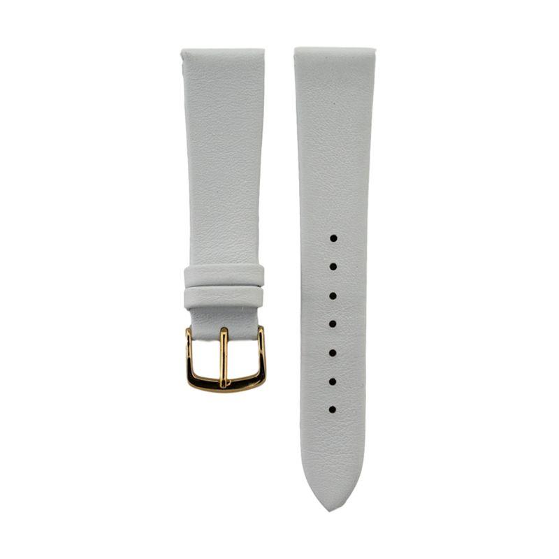 White Genuine Calfskin Strap