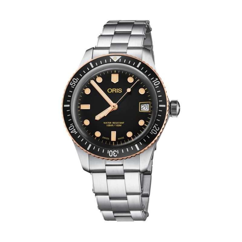 Divers Sixty-Five Steel/Bronze 36M Metal