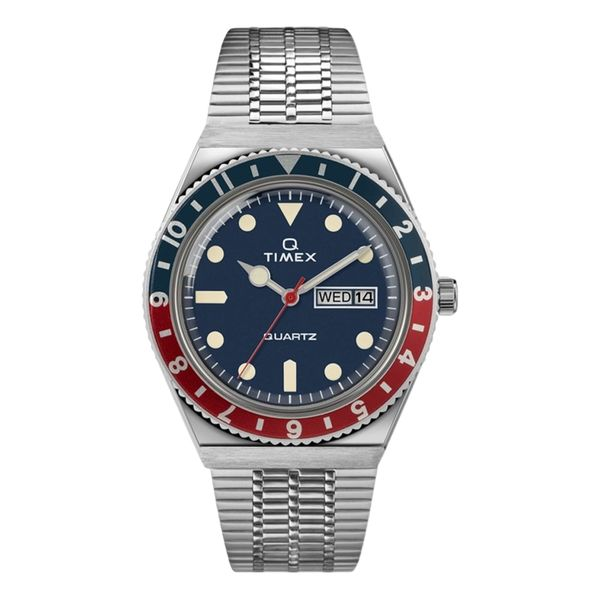 Q Timex Reissue 38mm Stainless Steel Bracelet