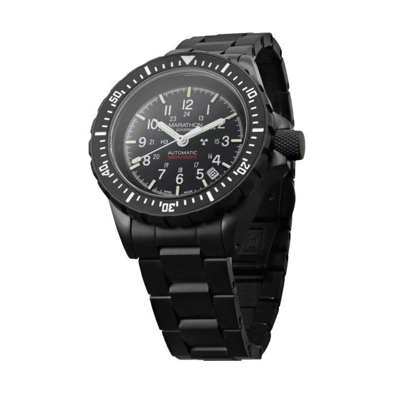 Search & Rescue Diver's Automatic (GSAR)- Anthracite Black - 41mm - Bracelet