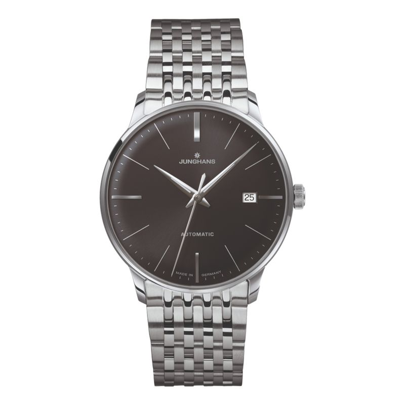 Meister Classic - Sunray Brush Dark Grey Dial