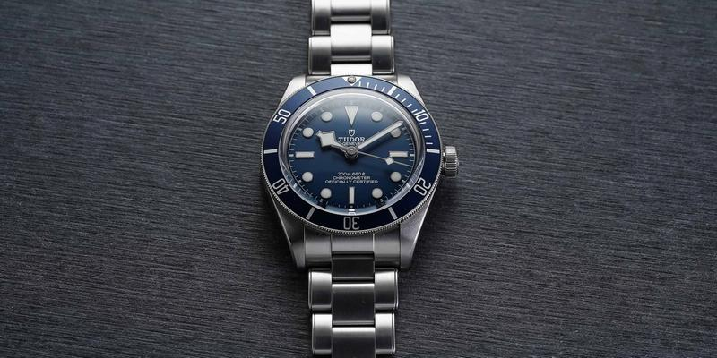 Tudor Black Bay 58 mėlyna