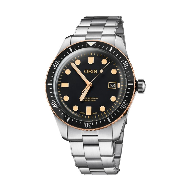 Divers Sixty-Five Steel/Bronze 42M Metal