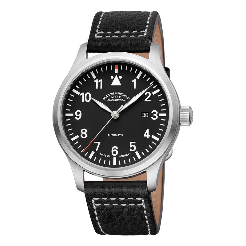 Terrasport I Black Dial Leather Strap