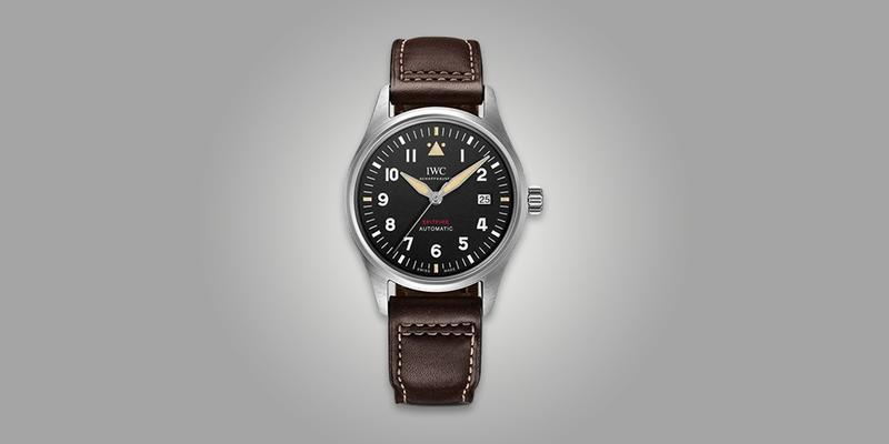 IWC Spitfire Vintage Leather Strap